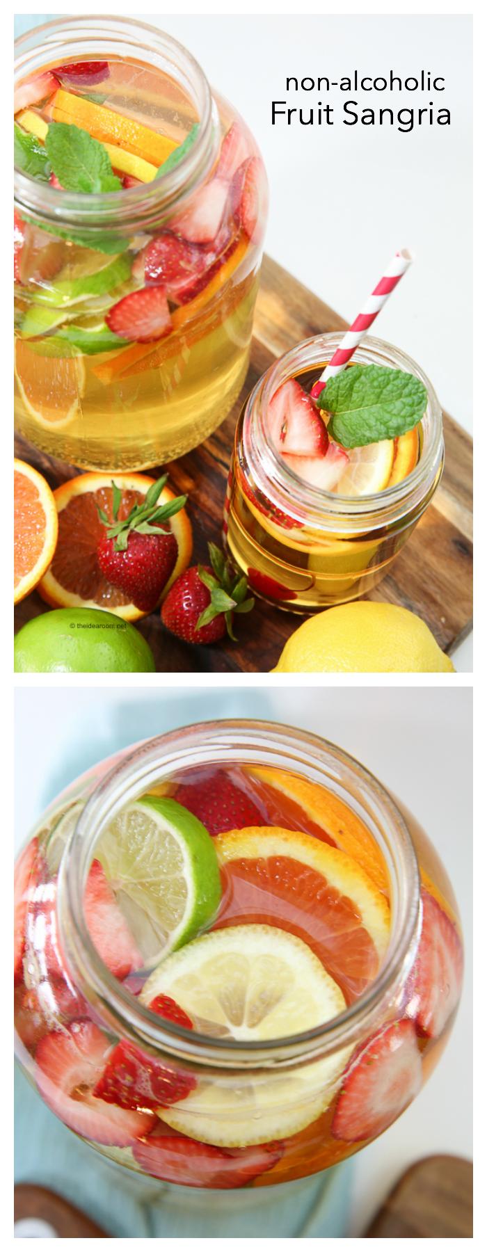 Homemade Alcoholic Fruit Drink