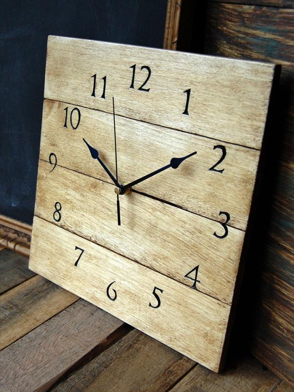 Rustic Wall Clock Kitchen