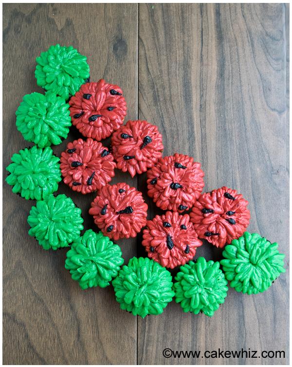 pull-apart-watermelon-cupcakes-1