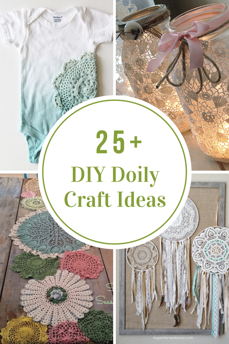 Diy Doily Craft Ideas The Idea Room