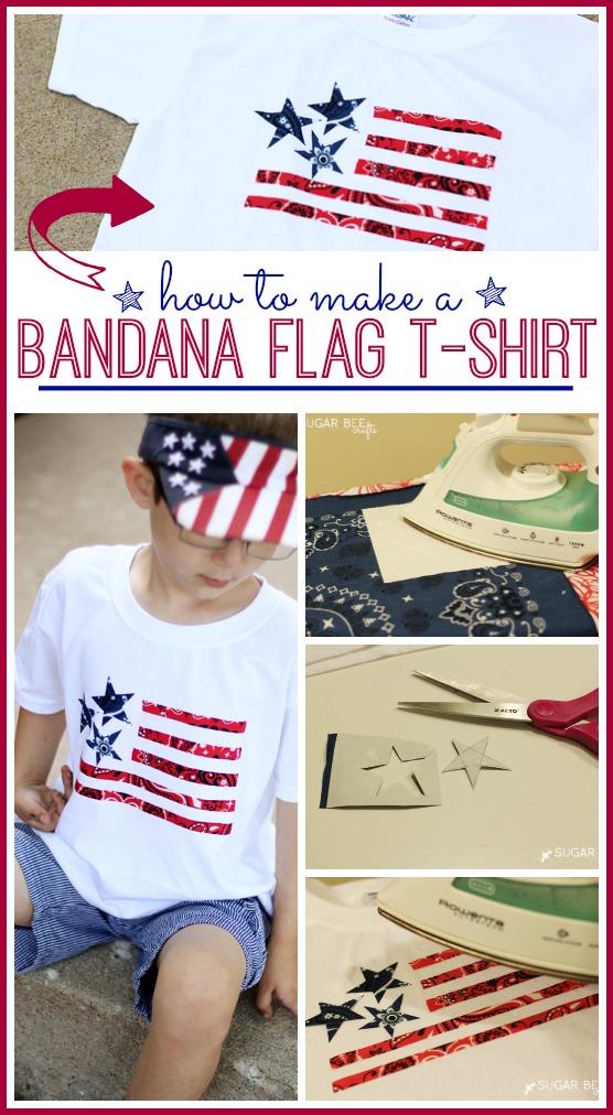 Bandana Flag T-Shirt