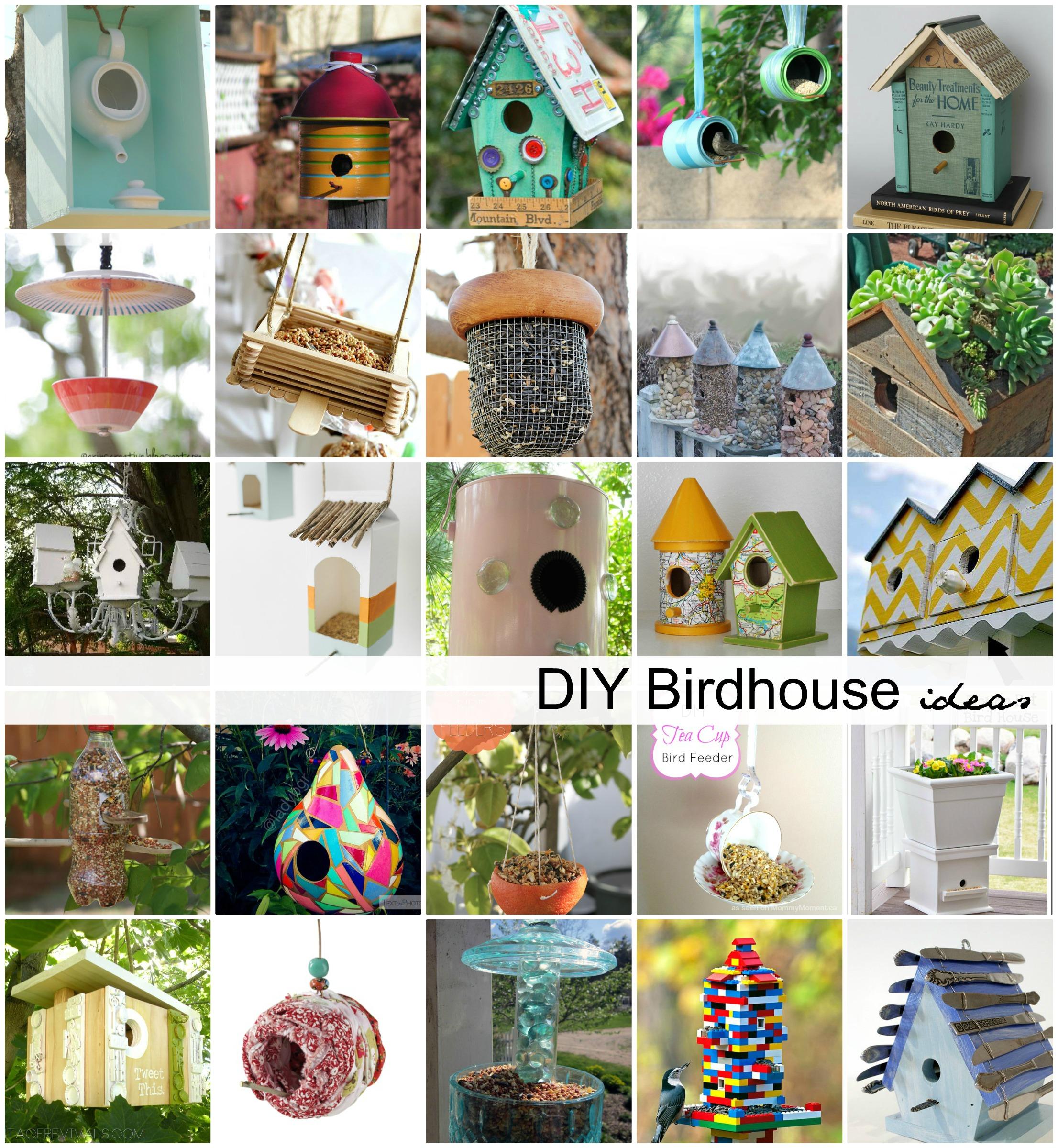 Birdhouse Diy Feeders Ideas 1 The Idea Room