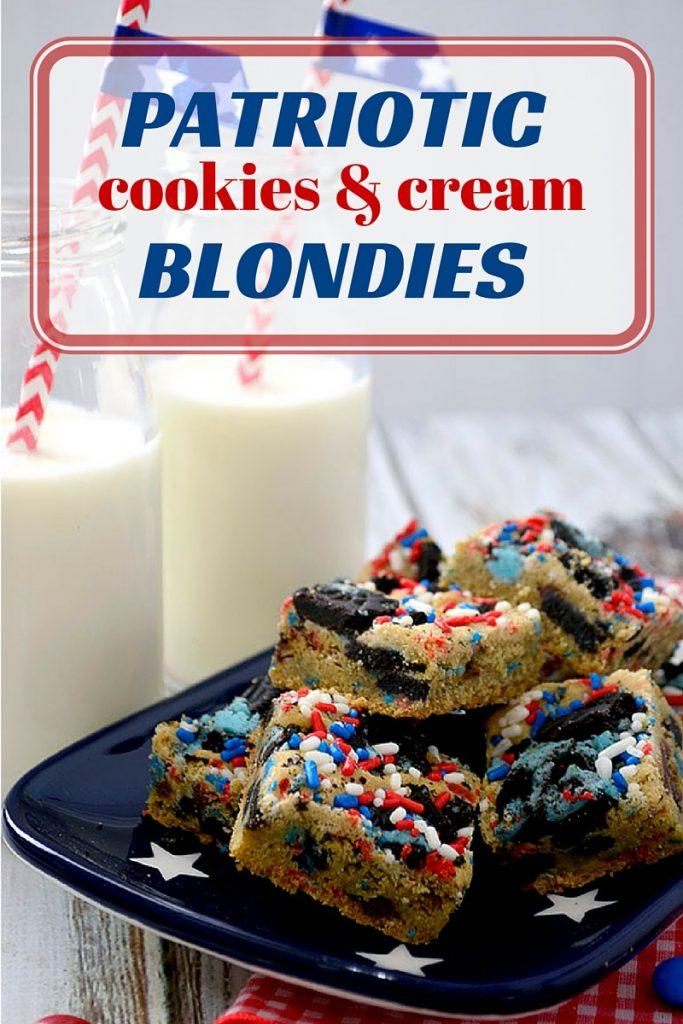 Patriotic-cookies-and-cream-blondies
