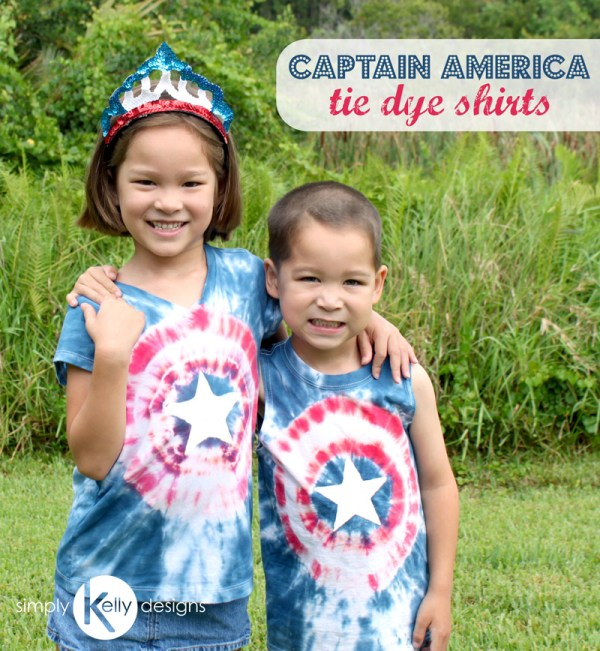 SimplyKellyDesigns_CaptainAmericaTieDyeShirts