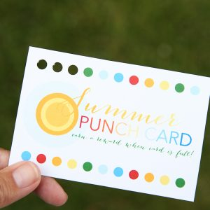 Summer Punch Cards