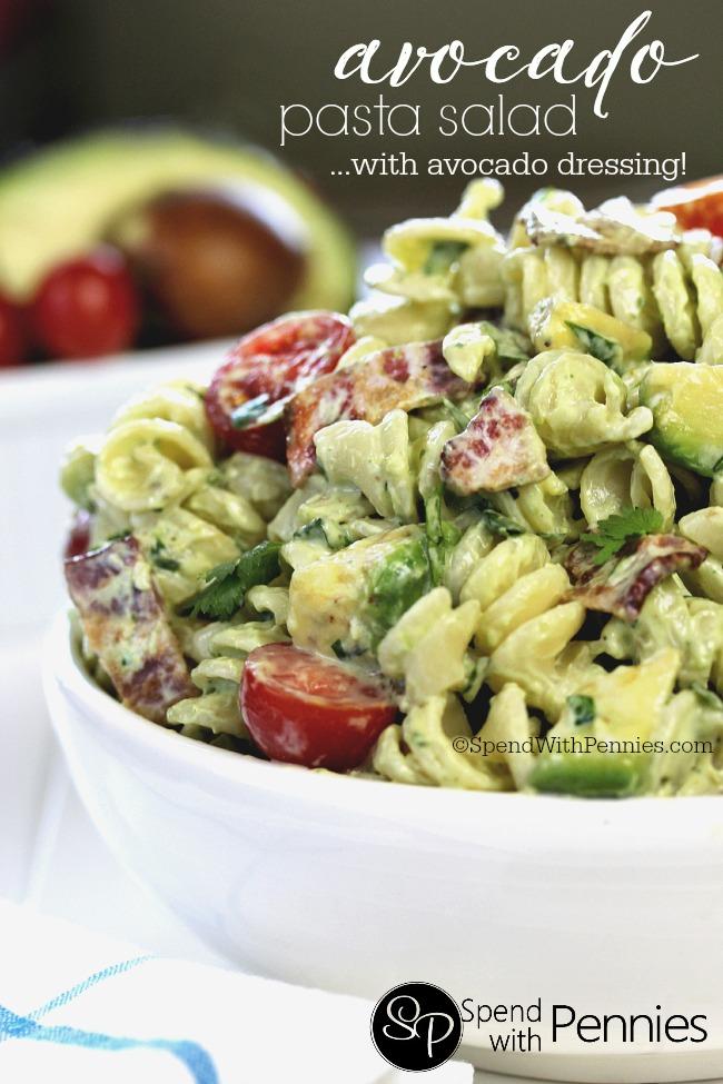 avocado-cold-pasta-salad