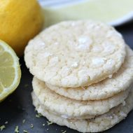 Lemon Crinkle Cookie Recipe