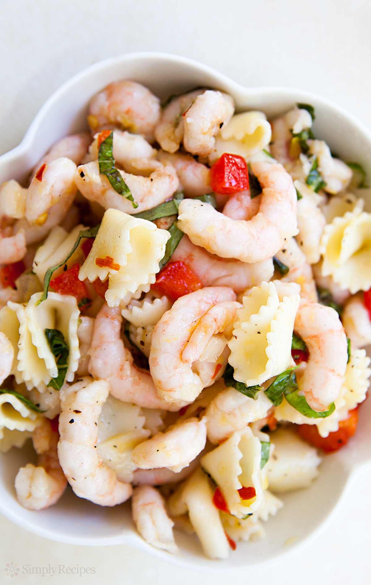 Grilled Shrimp Pasta Food Network