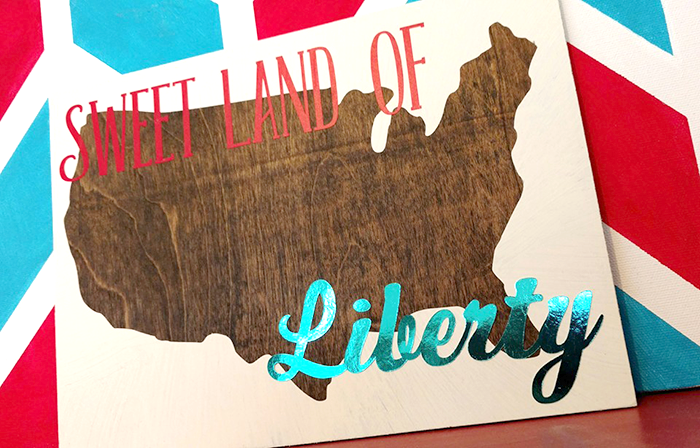 sweet land of liberty sign