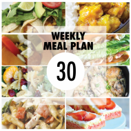 Weekly Meal Plan #30