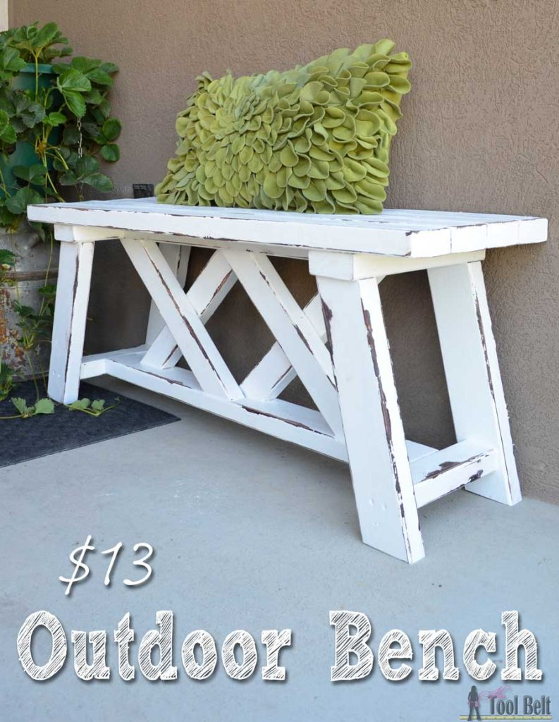 Groovy How To Build An Outdoor Bench With Free Plans Pabps2019 Chair Design Images Pabps2019Com