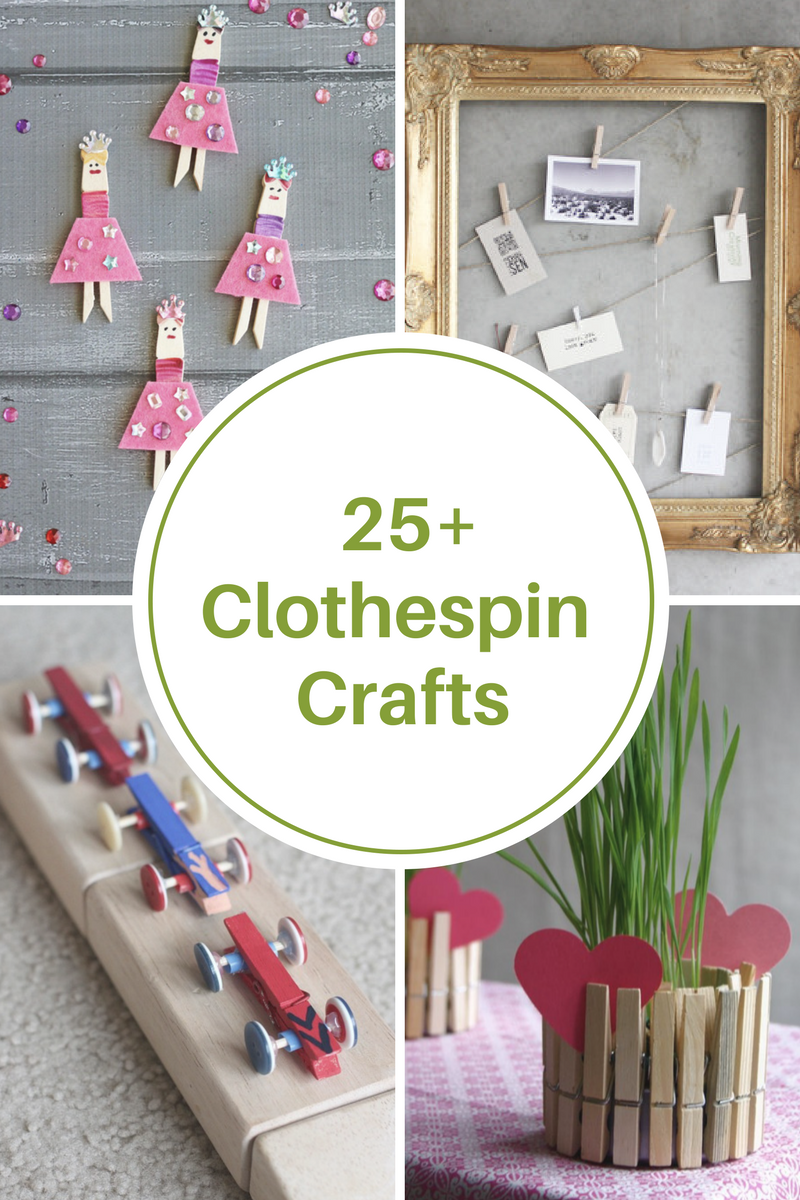 25 Clothespin Crafts