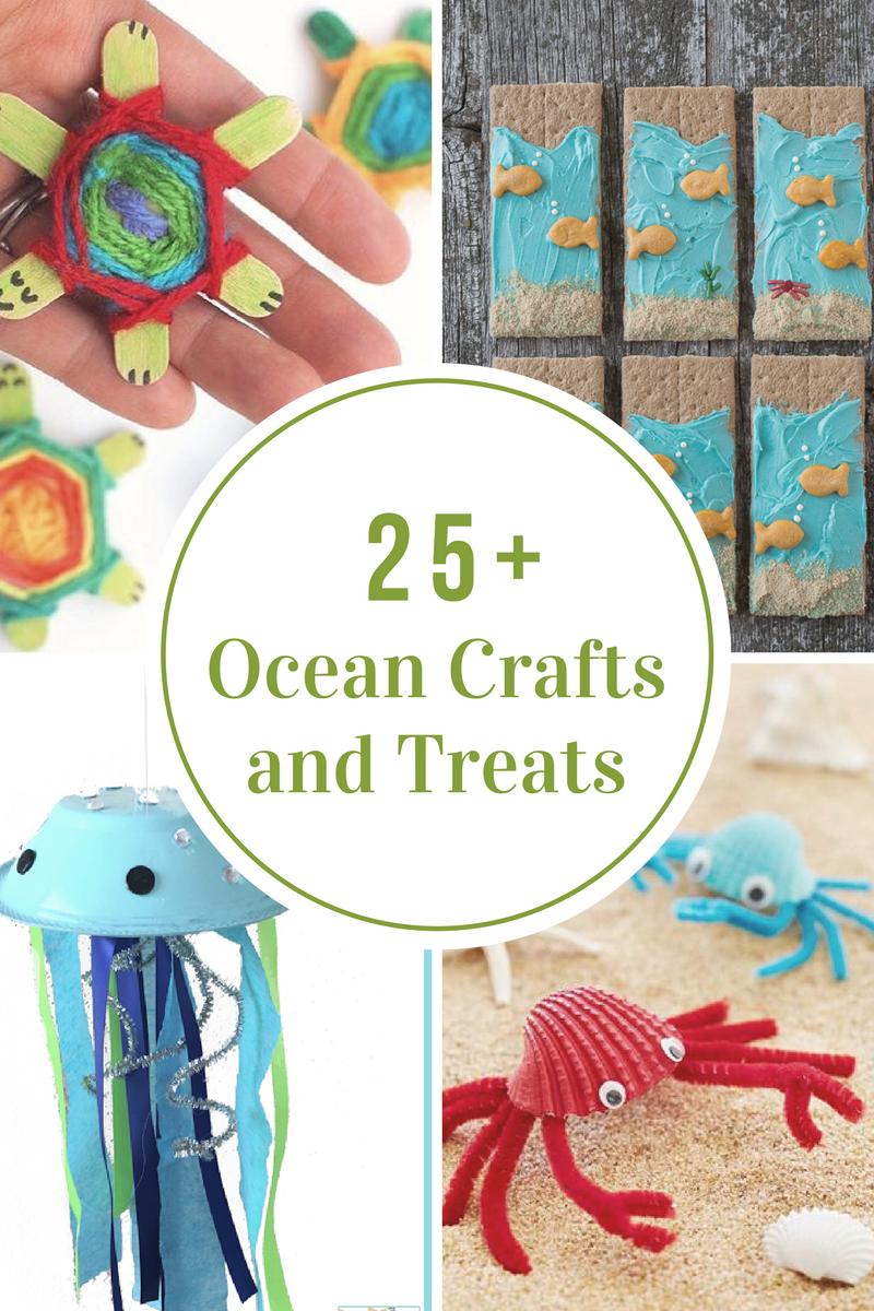 Ocean Crafts And Treats The Idea Room