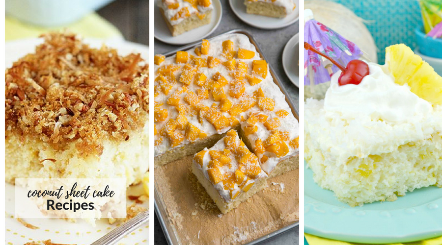 coconut sheet cake recipes