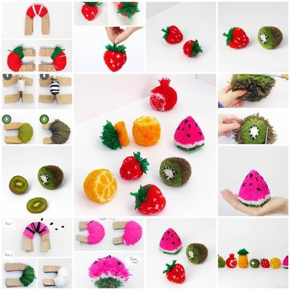 DIY-Fruit-Pom-Poms-3