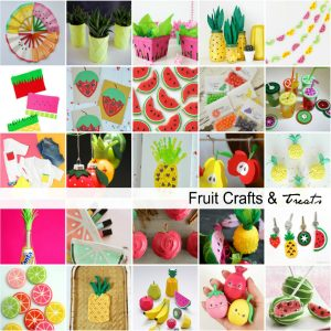Fruit Crafts and Treats