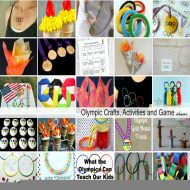 Olympic Crafts, Activities and Game Ideas