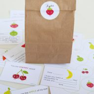 Printable Lunch Box Notes with Glad Disney Multipacks