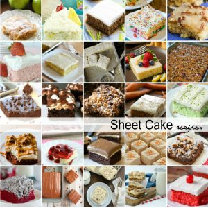 Sheet Cake Recipes