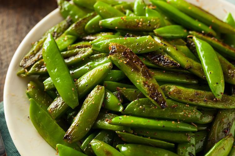 Stir-Fried-Snap-Peas