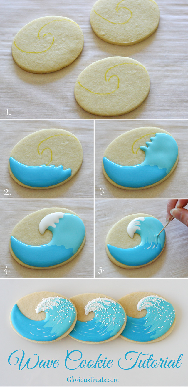 Wave-cookies-how-to
