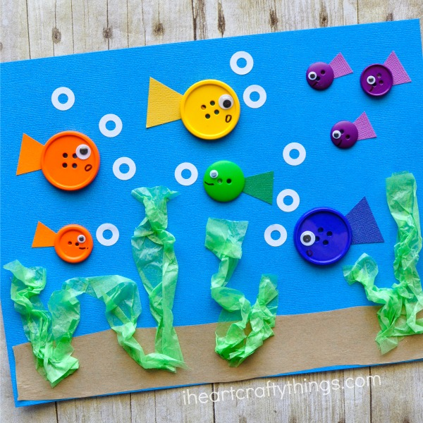 button-fish-craft
