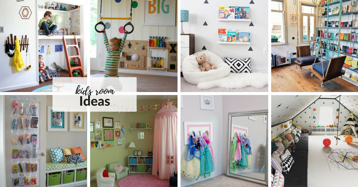 What's Your Idea Of An Awesome And Useful Space For Your Kids? Would You Want To Create A Reading Nook, Art Station, Indoor Tree House Or Jungle Gym For Them?