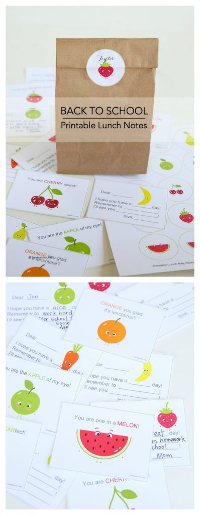 printable lunch notes pin