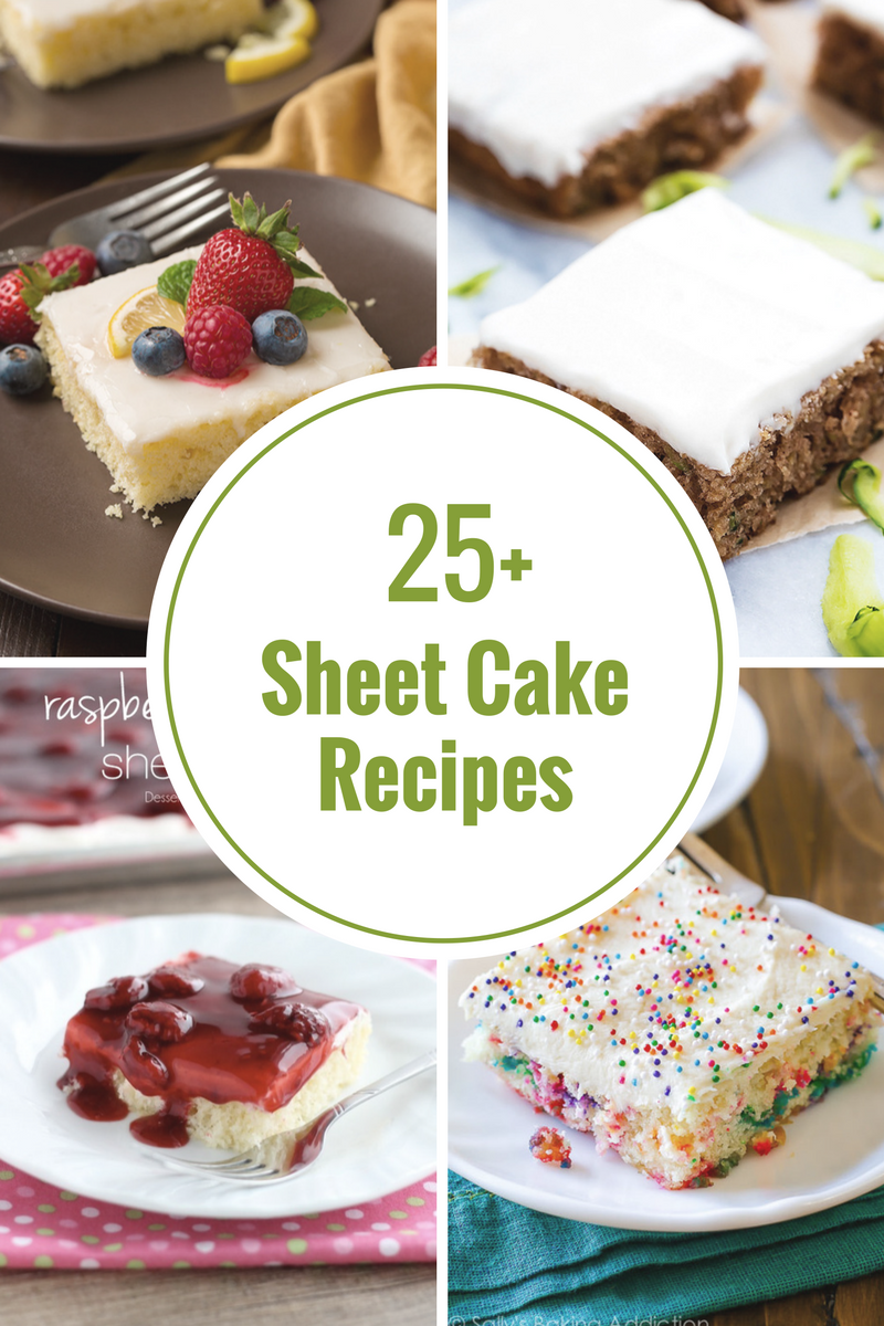 sheet-cake-recipes