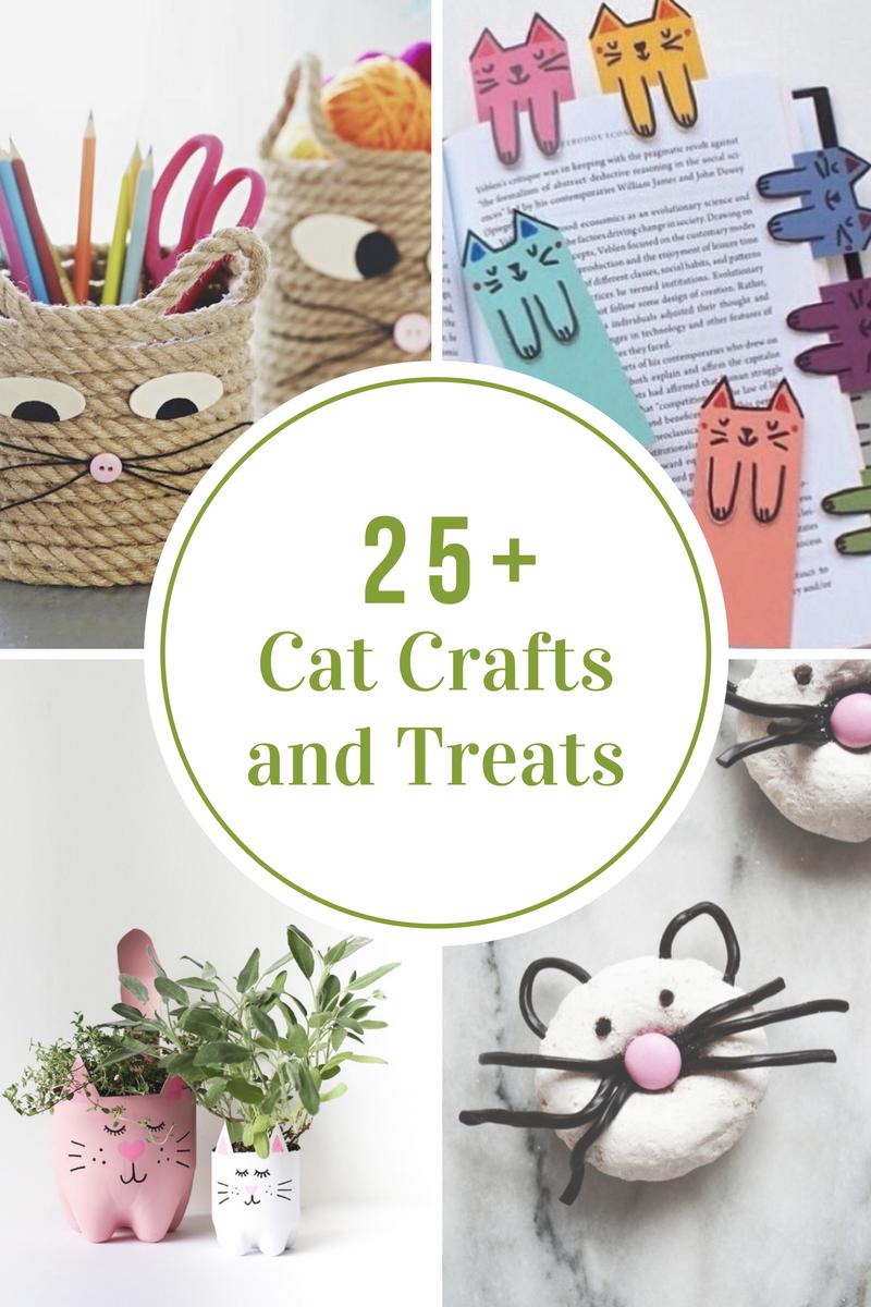 25-cat-crafts-and-treats