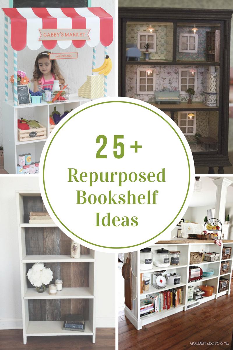 Repurposed Repurposed Bookshelf Ideas The Idea Room