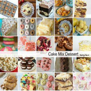Cake Mix Dessert Recipes