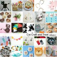 Cat Craft and Treat Ideas for Kids