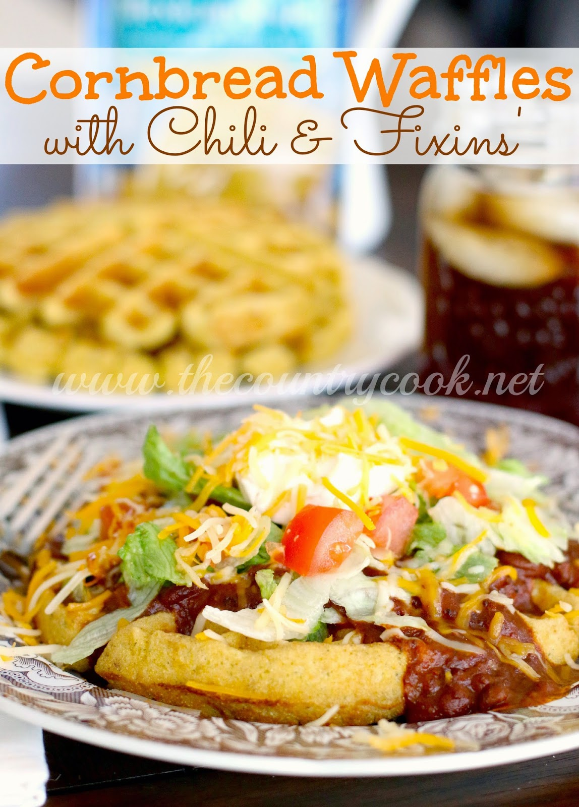 Cornbread Waffles (copyright, thecountrycook.net)