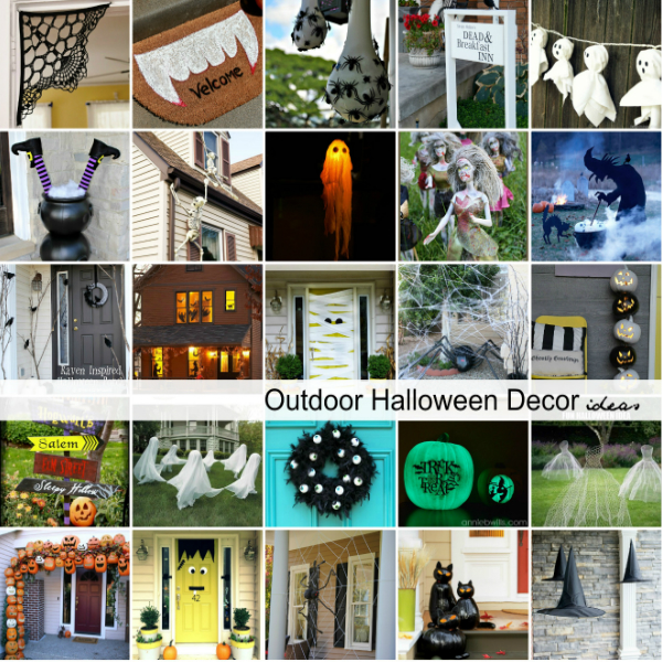 Halloween Outdoor Yard Decorations: DIY Outdoor Halloween Decorations