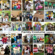 DIY Family Halloween Costume Ideas