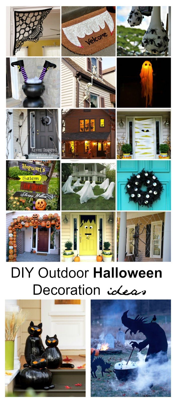 diy outdoor halloween decoration ideas - Wwwhalloween Decorations