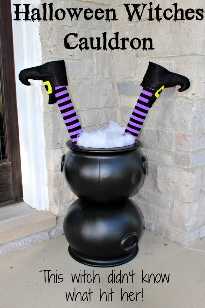 halloween witches cauldron 682x1024 - Halloween Witch Decoration