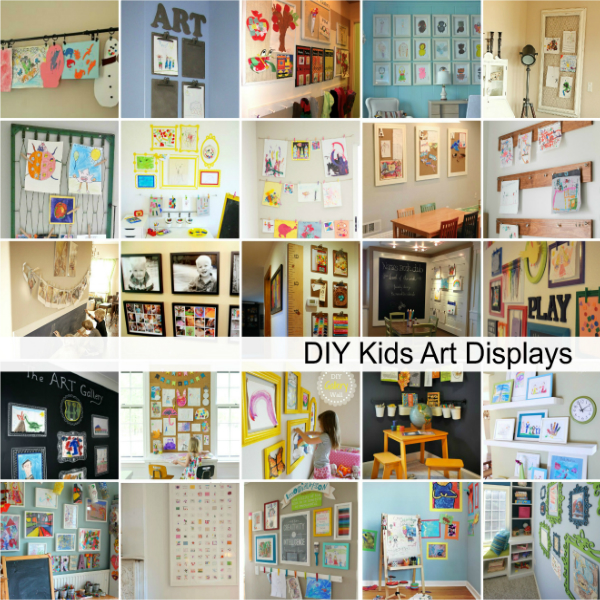 Kids-Art-Displays-Ideas