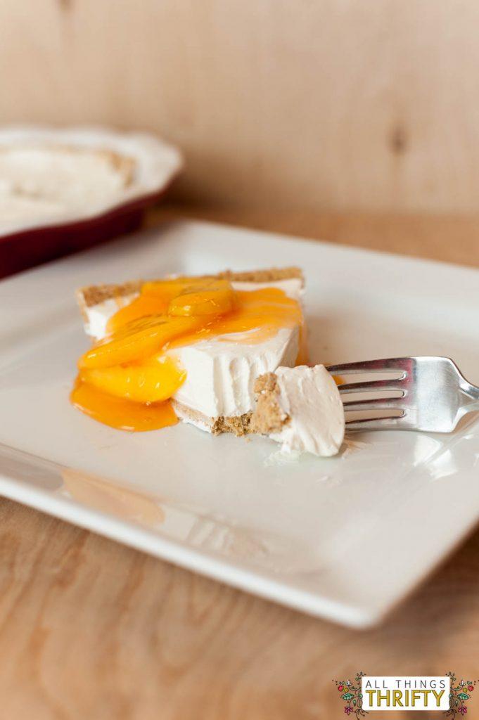No-Bake-Cheesecake-Peach-Glaze-5