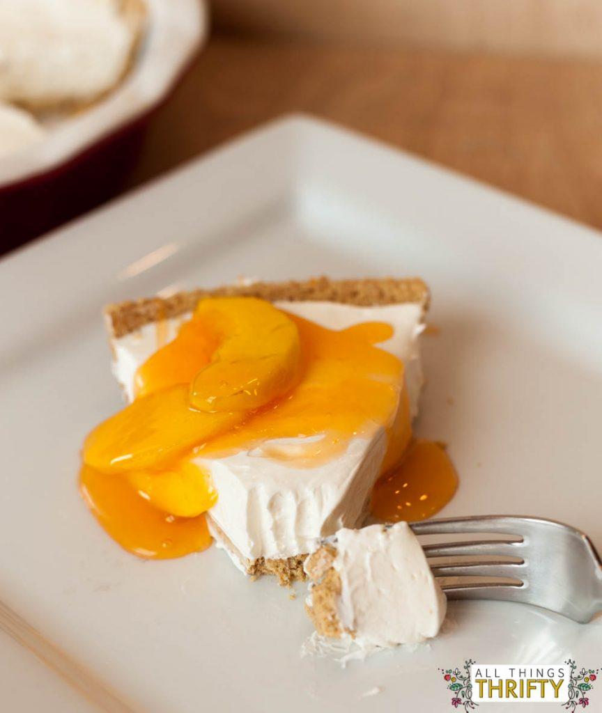 No-Bake-Cheesecake-Peach-Glaze-6