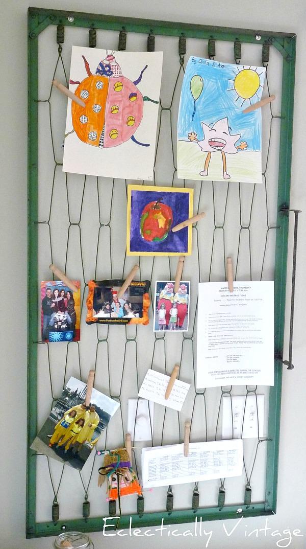 Diy Kids Art Displays The Idea Room