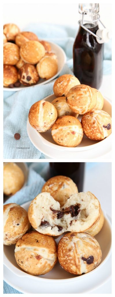 Pancake Poppers Recipe pin