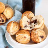 Chocolate Chip Pancake Poppers Recipe