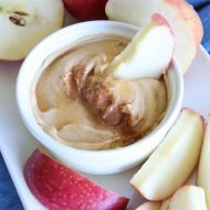 Peanut Butter Honey Yogurt Dip Recipe