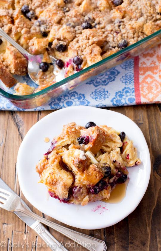 Sallys-Baking-Addiction-Overnight-Blueberry-French-Toast-Casserole-4
