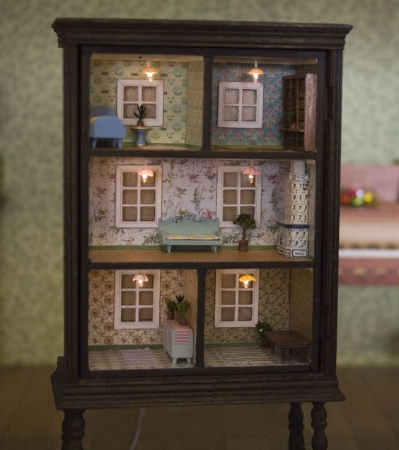 Turn-an-old-dresser-into-a-doll-house-1