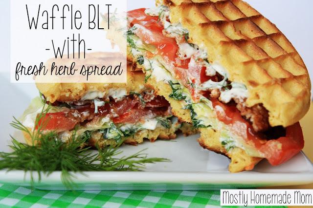 Waffle BLT 1