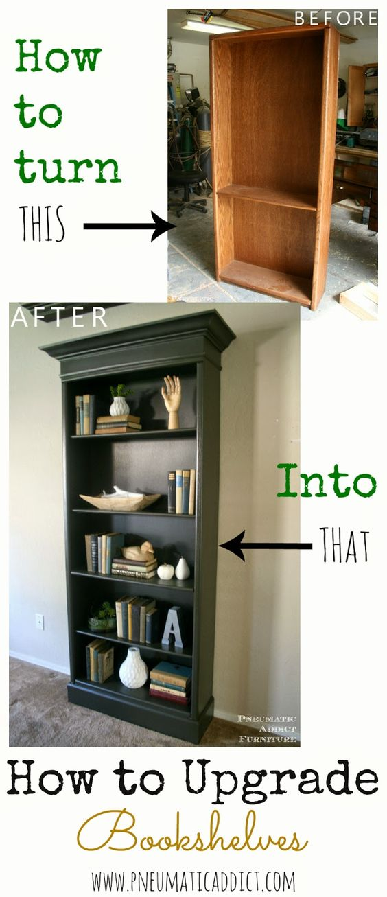 Repurposed Bookshelf Ideas - The Idea Room