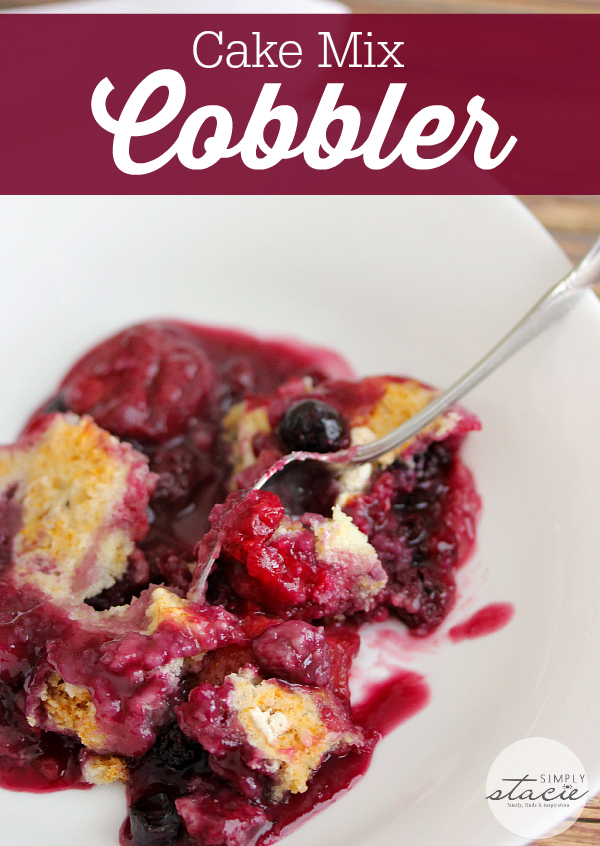 Berry Cobbler Cake Mix Sprite
